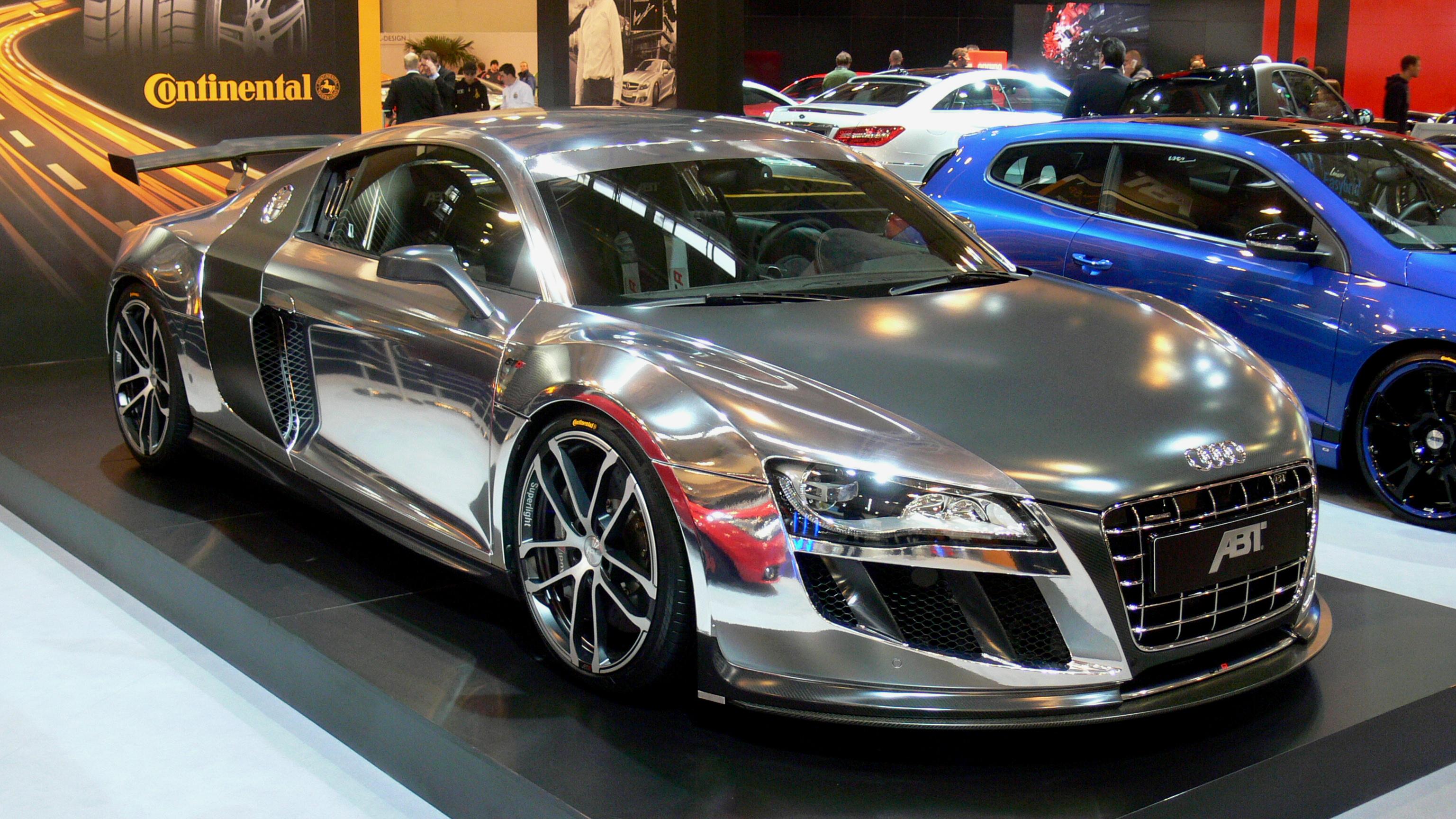Chrome Race Cars