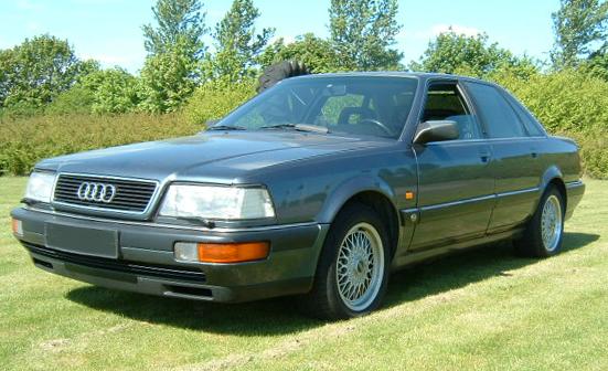 Audi V8 - Wikipedia, den frie encyklopædi