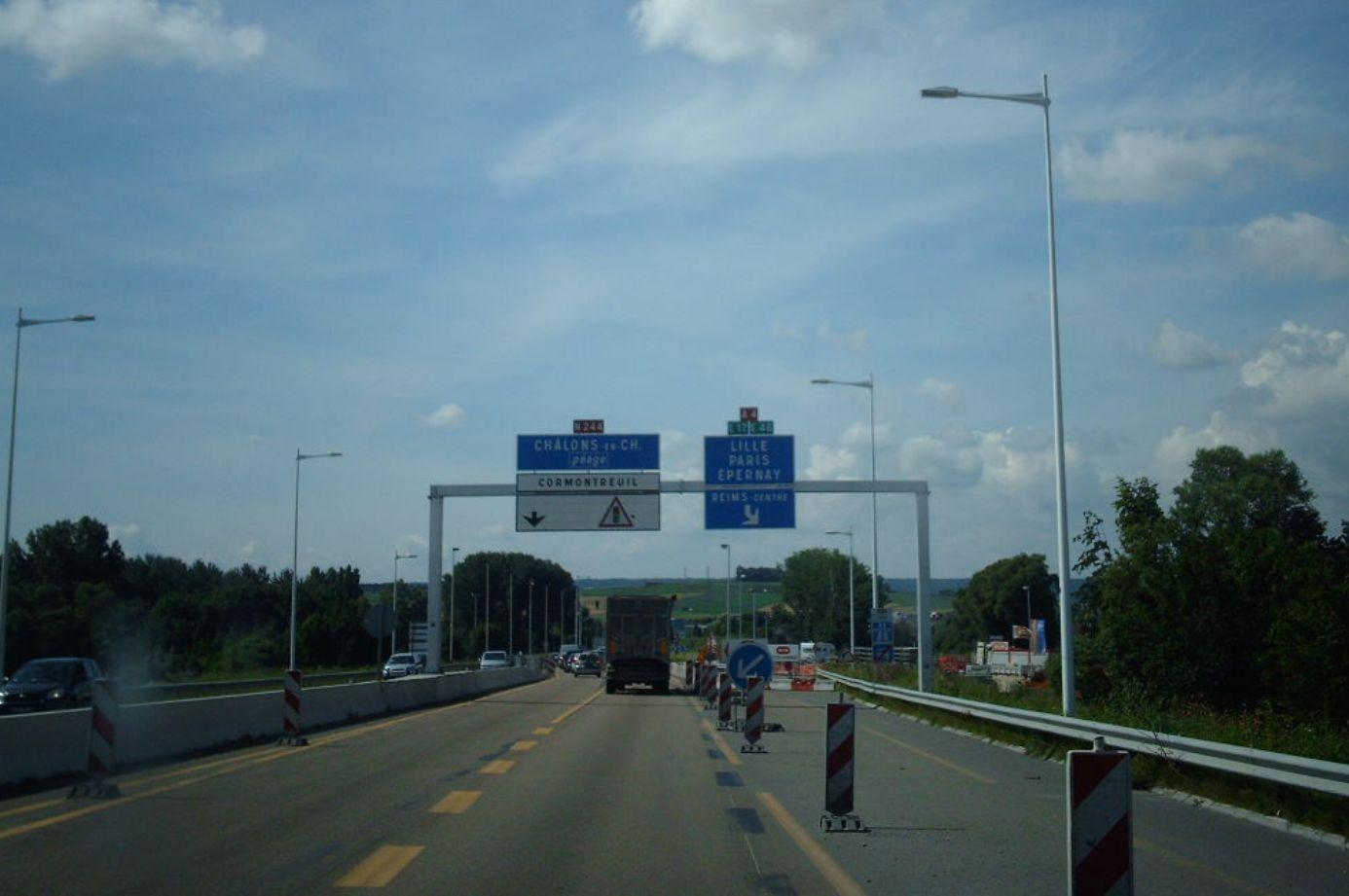 A34 autoroute #