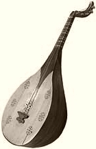 Central Asian lute