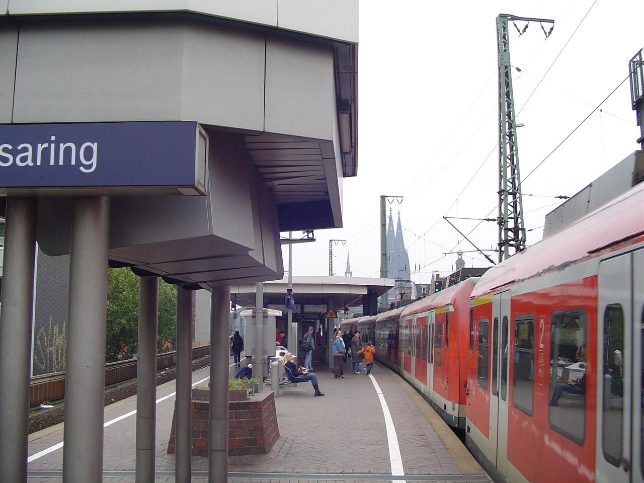 S Bahn Hansaring