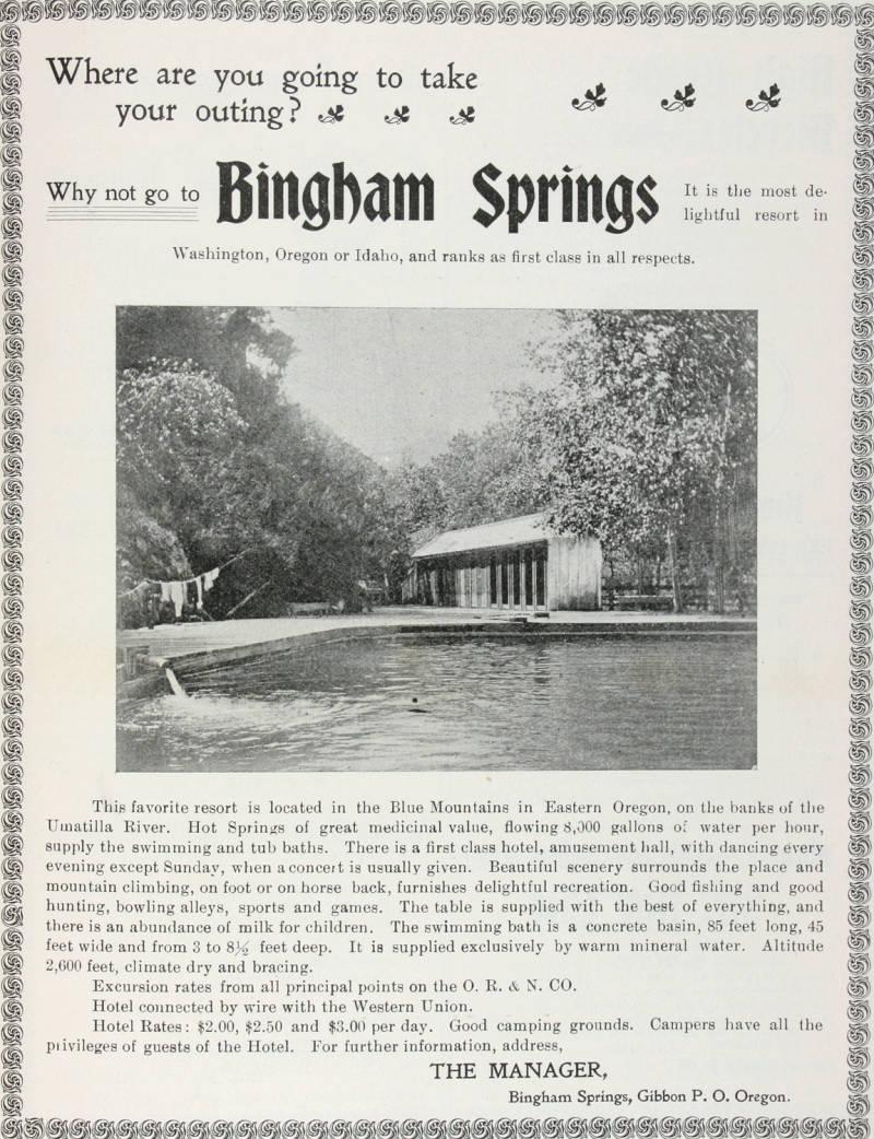 bingham springs  oregon