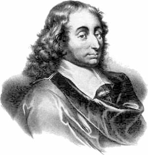 Blaise Pascal. Published in the US before 1923 and public domain in the US.