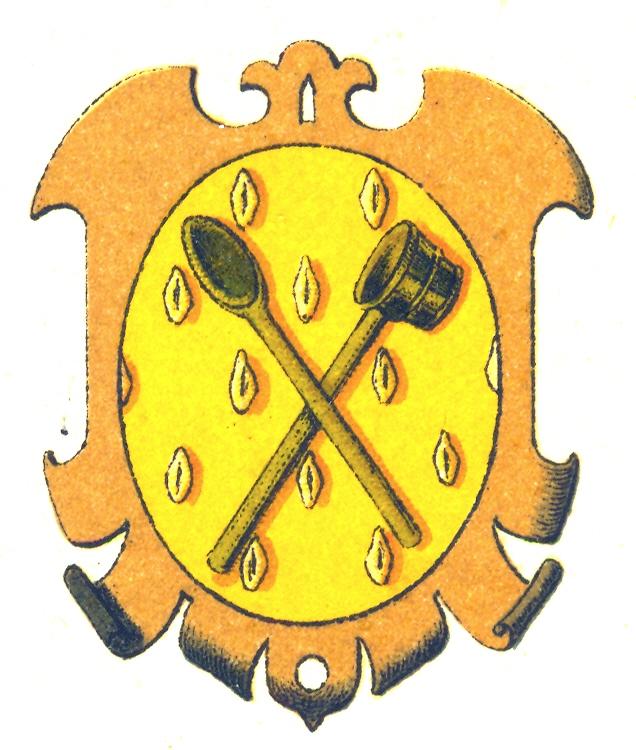 словам герб сапожника в средневековье картинки велосипедист знает