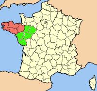 Carte Bretagne Pays De La Loire.Question Du Rattachement De La Loire Atlantique A La Region