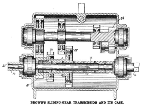Alexander T. Brown - Transmission - U.S. Patent 819,334 - 1906