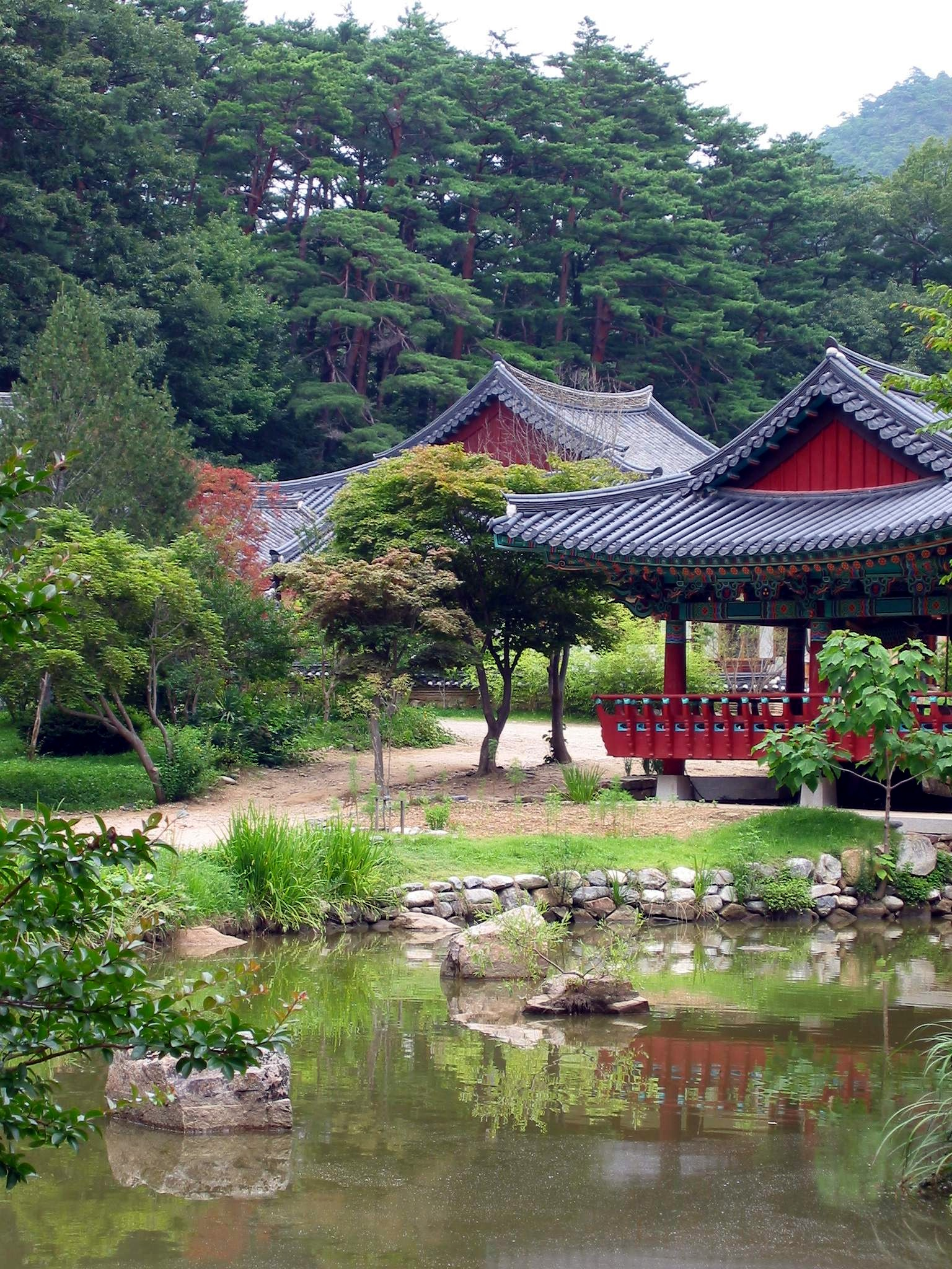Korean Landscape Garden : File history usage on commons other wikis
