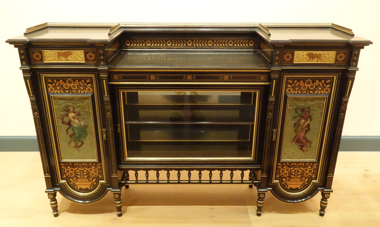 File:Cabinet, Herter Brothers, New York, c. 1872, ebonized cherry ...