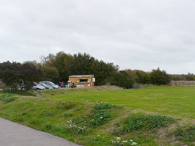 Cafe at Pegwell Bay Nature Reserve - geograph.org.uk - 1600498