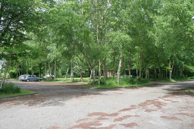 Car park, Bestwood Country Park - geograph.org.uk - 1340328