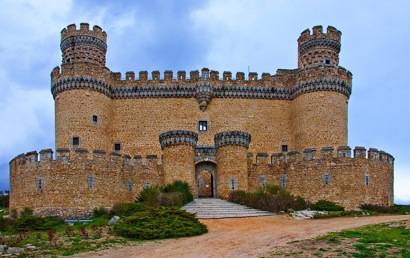 Ch teaux et forteresses d espagne madrid 2 tout aide - Casa en manzanares el real ...