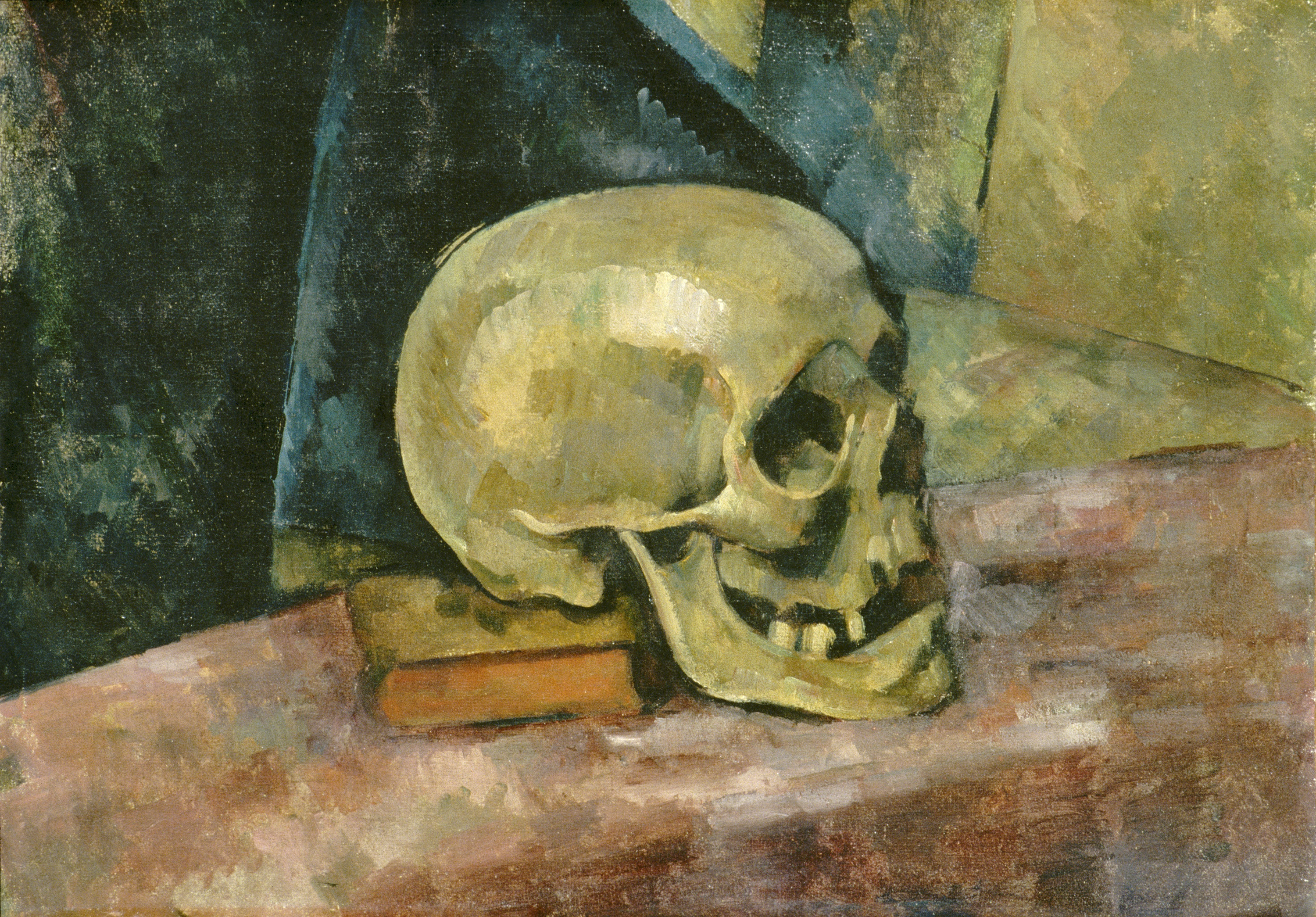Whitehouse File Cezanne Still Life With Skull Jpg Wikimedia Commons