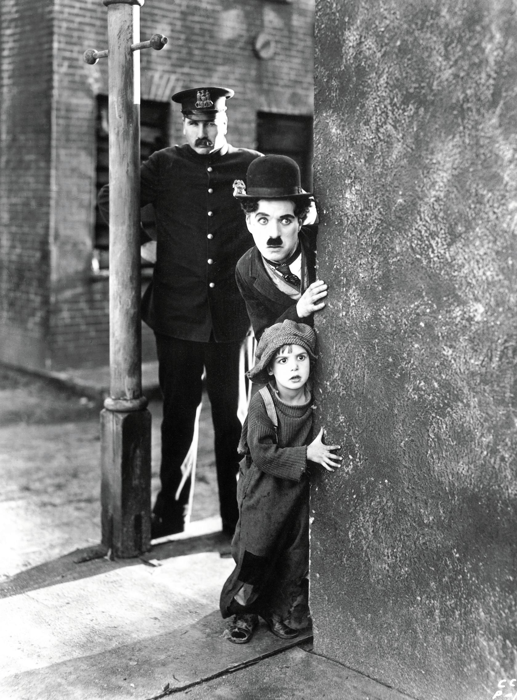 Charlie Chaplin from 'The Kid' Creative Commons