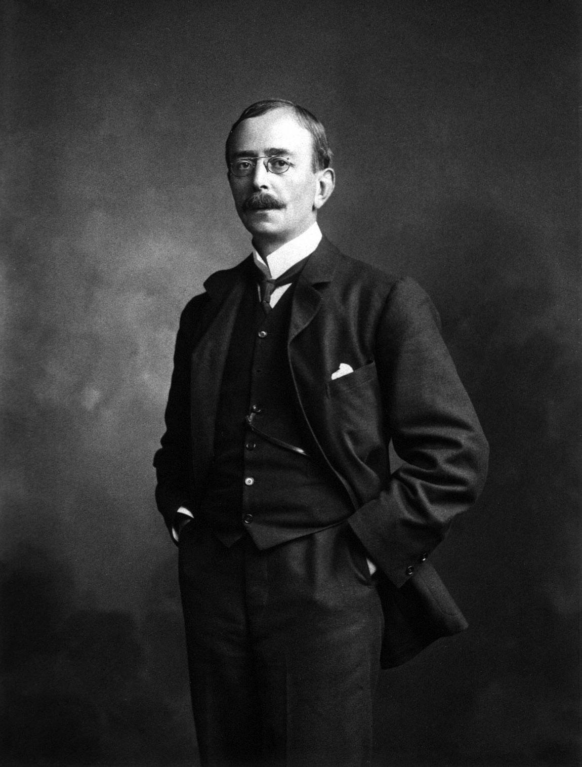 Depiction of Charles Scott Sherrington