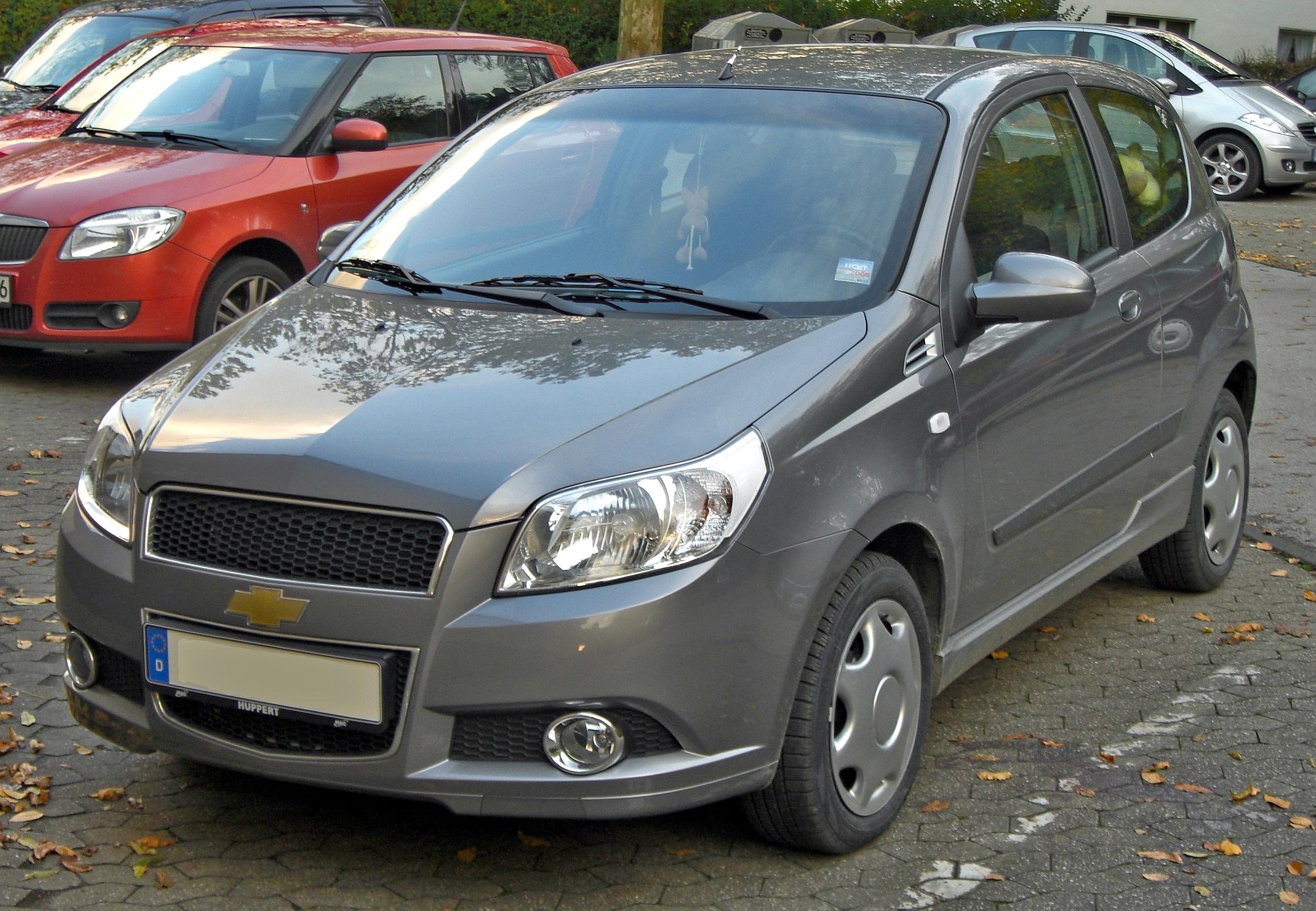 File Chevrolet Aveo Dreiturer Seit 2008 Front Mj Jpg Wikimedia Commons