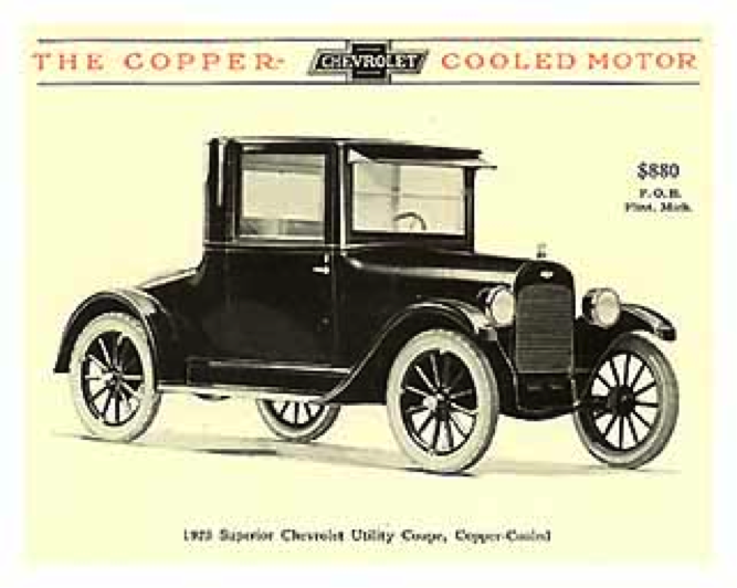 Chevrolet Series M Copper Cooled Wikipedia