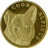 Coin of Kazakhstan 500RedWolf reverse