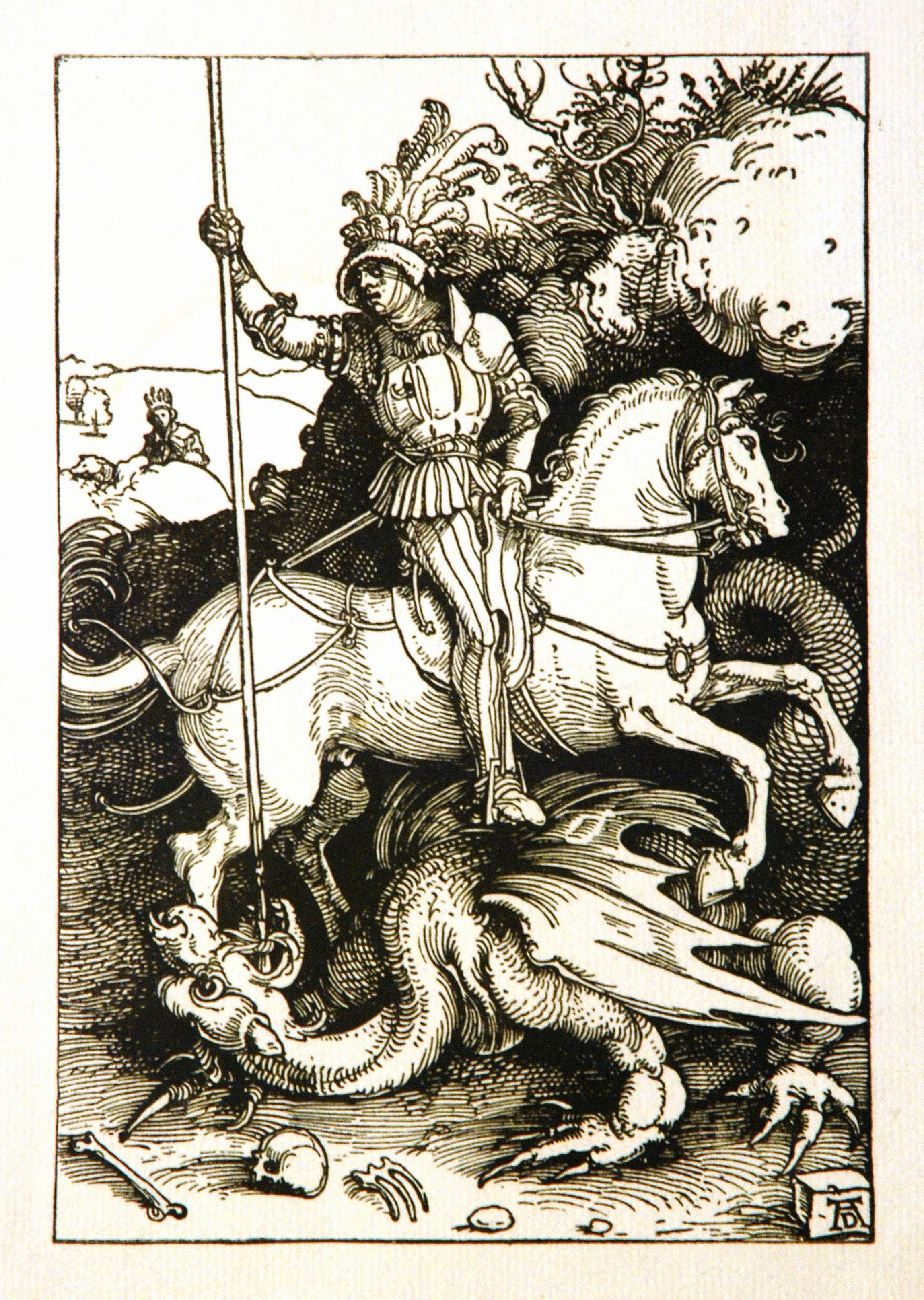 Depiction of Jorge de Capadocia