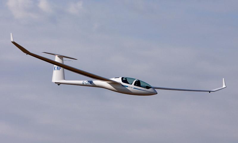 DG1000 glider crop