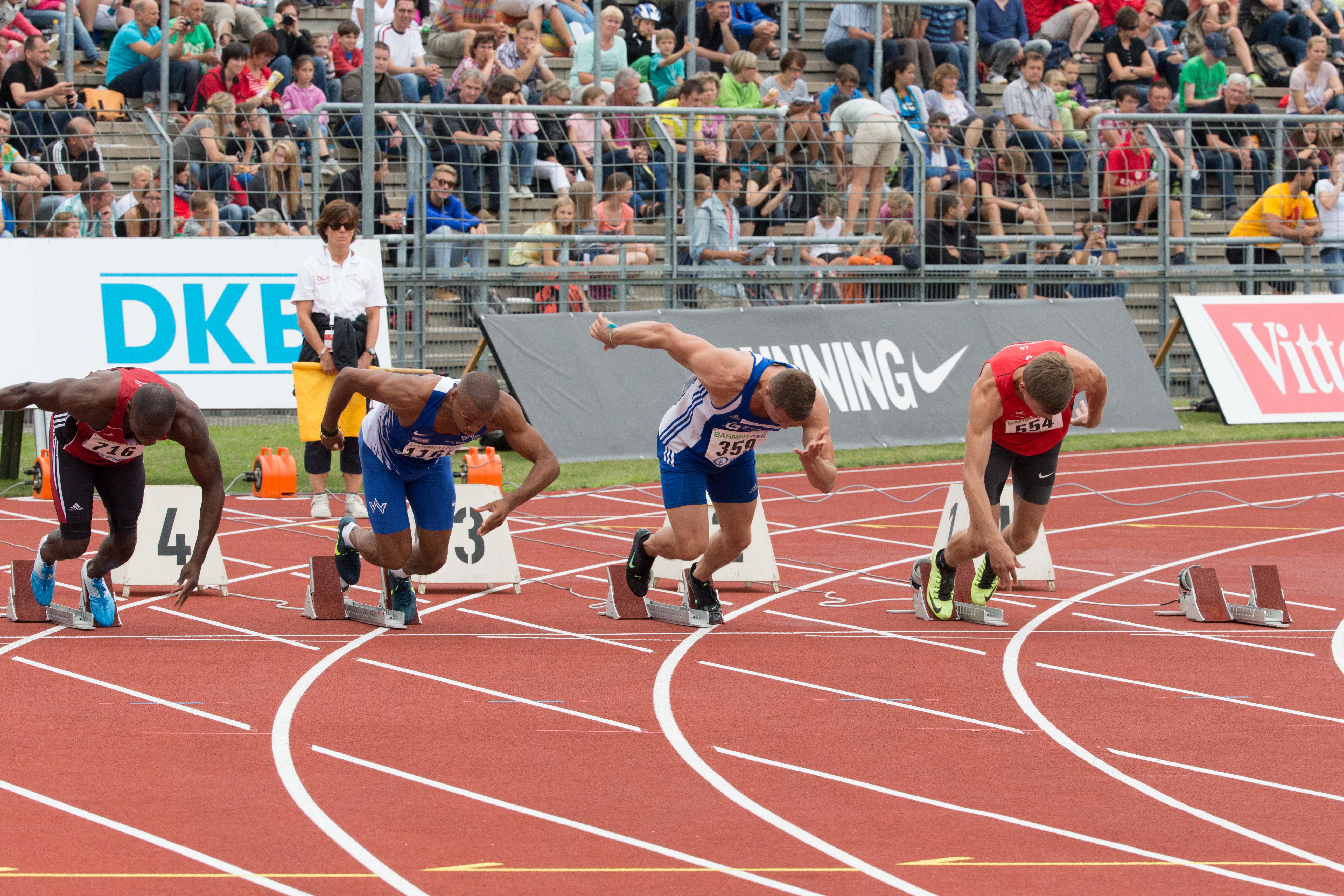 Leichtathletik 100m