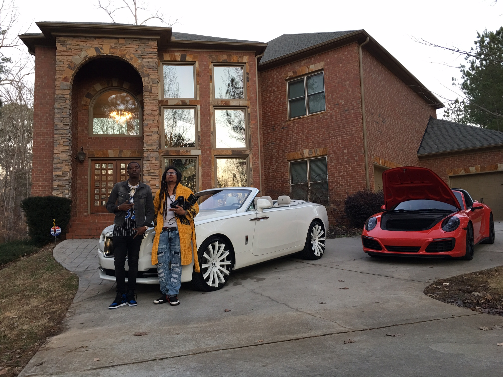 File:Director Charles M Robinson with Rapper Rich Homie Quan jpg
