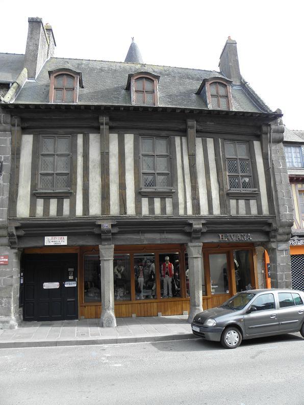 Monument historique à Dol-de-Bretagne