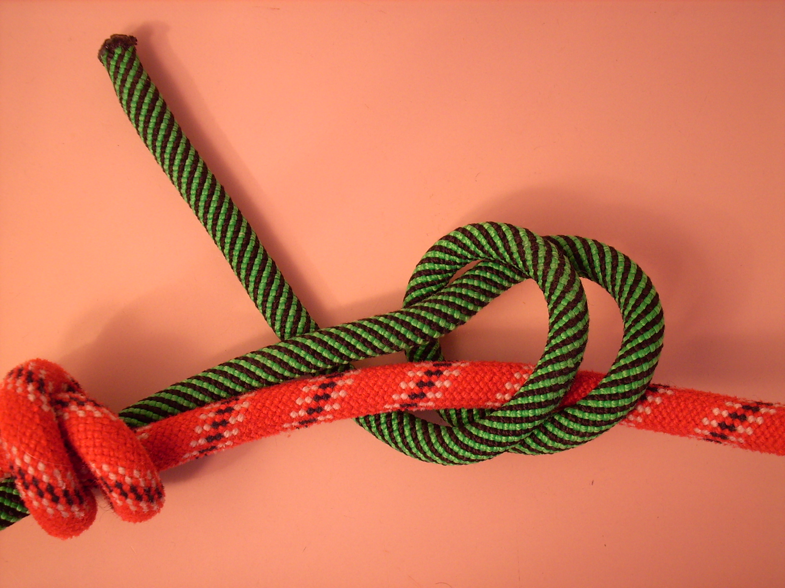 Double Fisherman's Knot Step 2