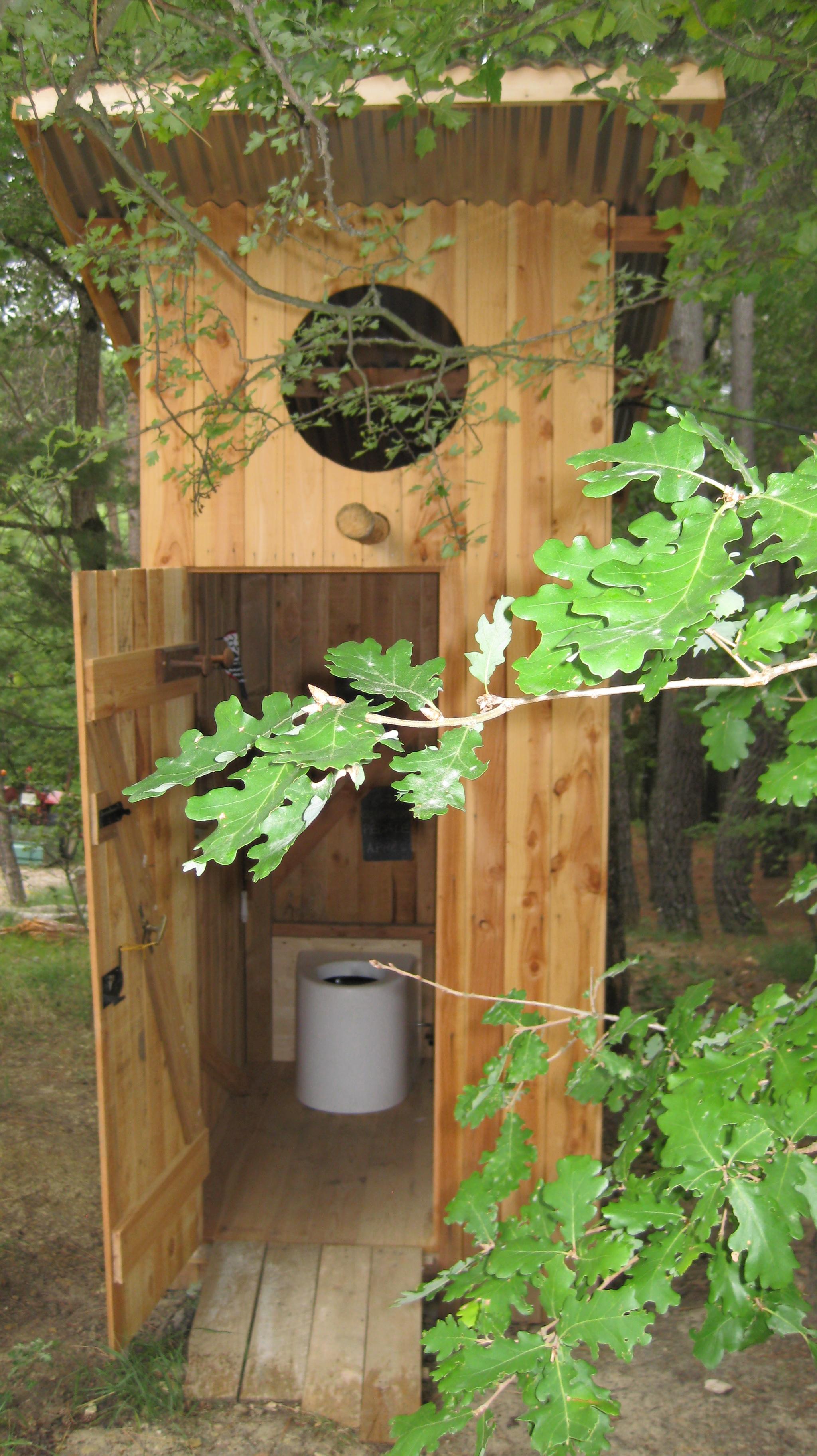 File:Dry Toilet Built Outside A House Toilette Sèche Construite à Lu0027 Exterieur D