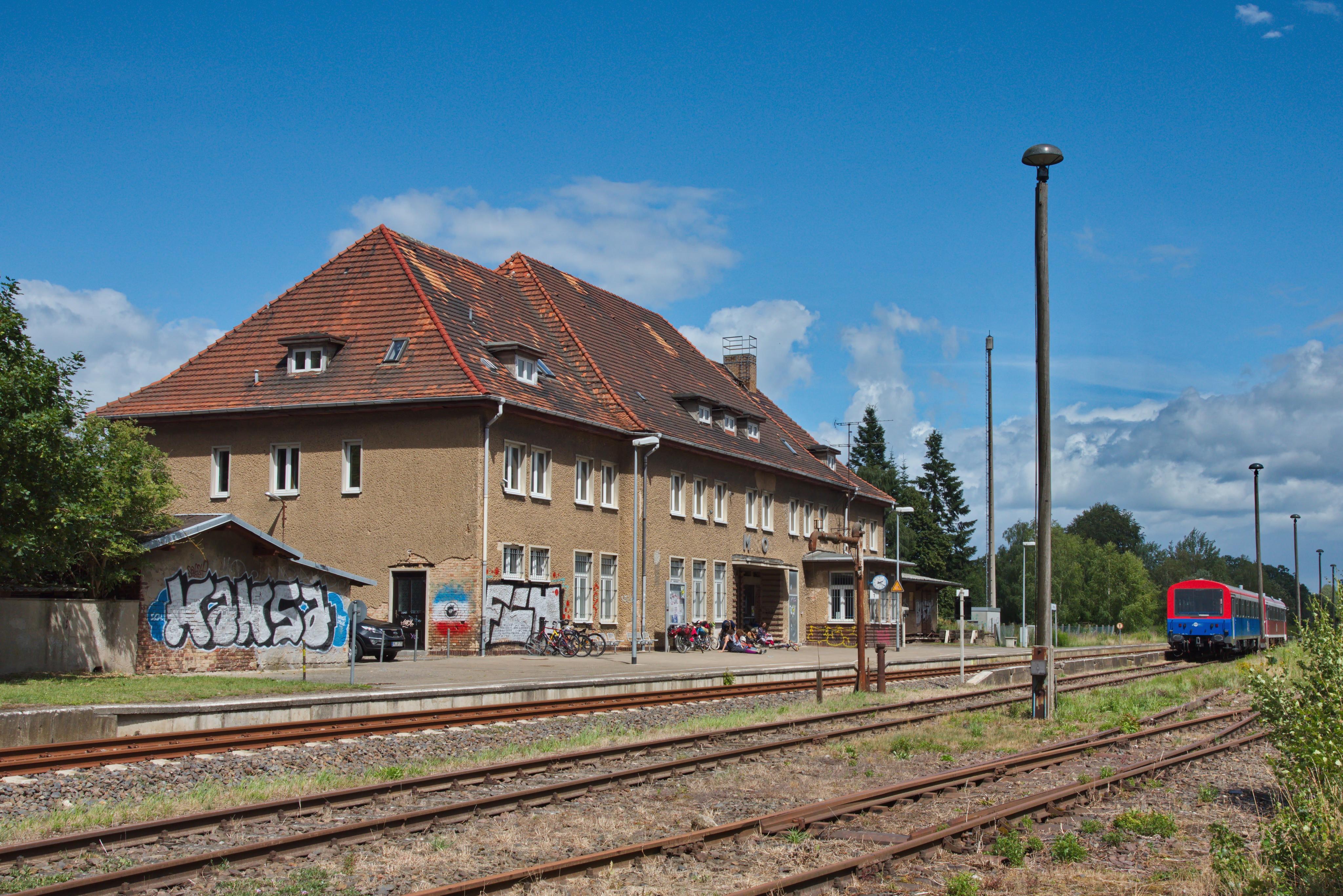 Mirow Railway Station