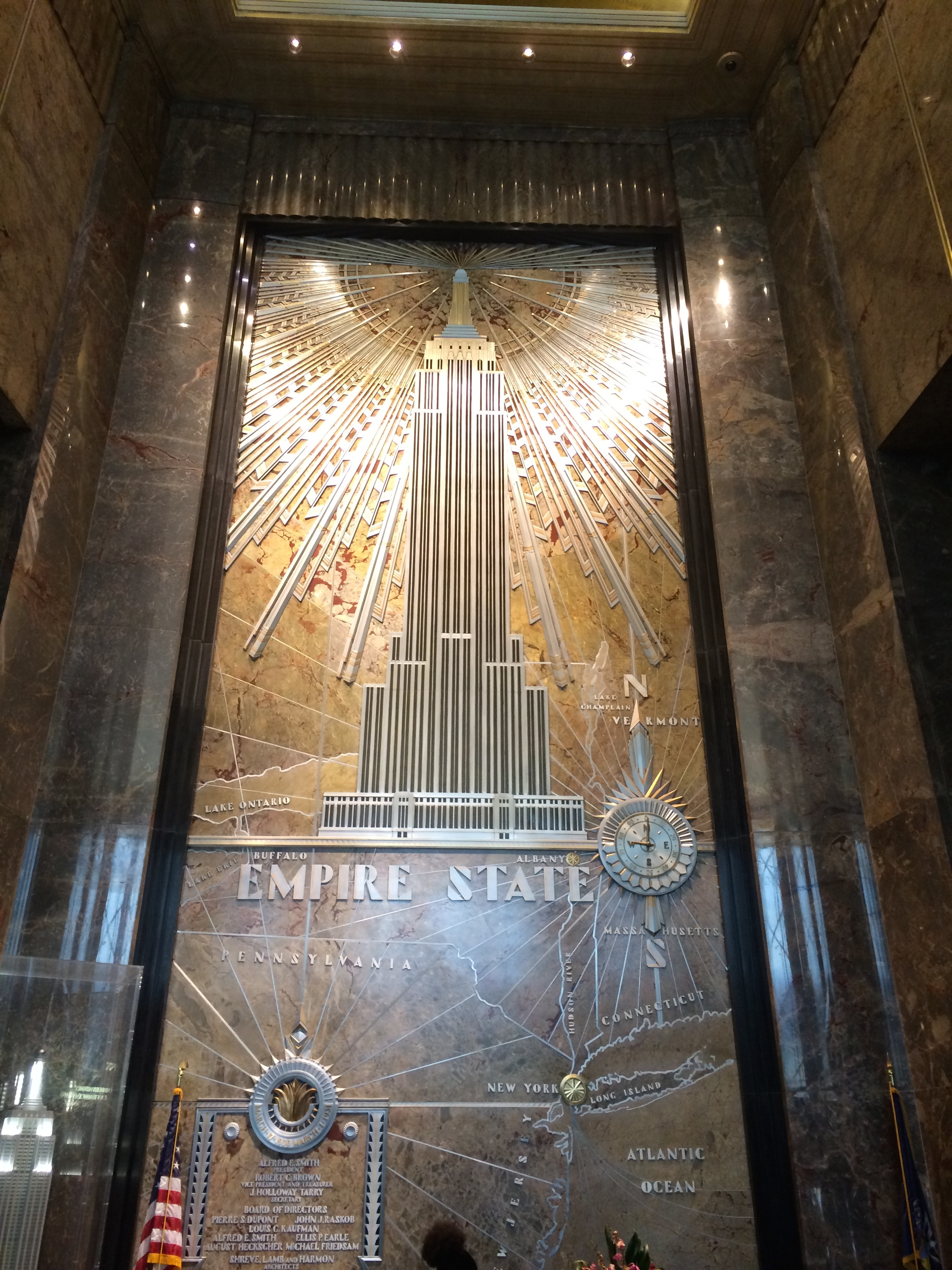 Awesome Empire State Building Interieur Images - Huis & Interieur ...