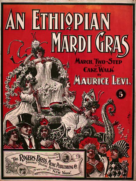 Mardi Gras Plakat