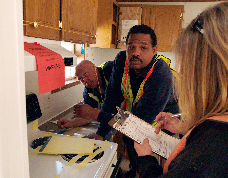file fema 33711 fema and contractors inspect the interior of