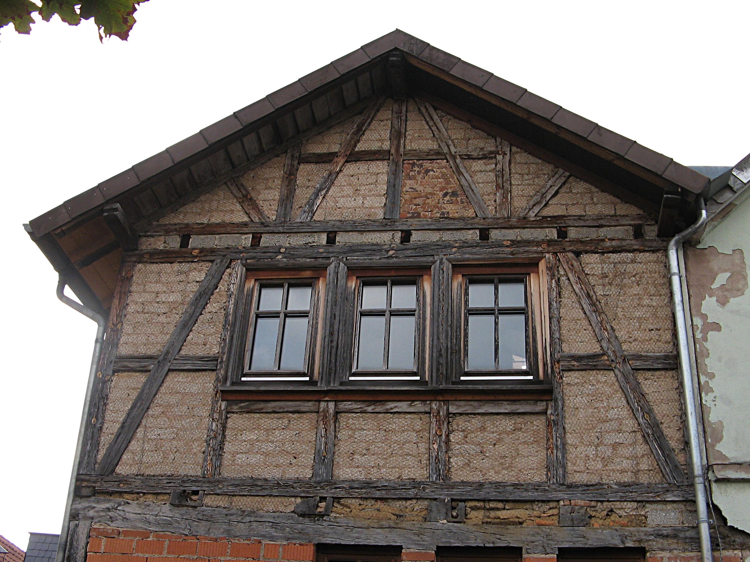 File:Fachwerkhaus - Giebelwand.jpg - Wikimedia Commons