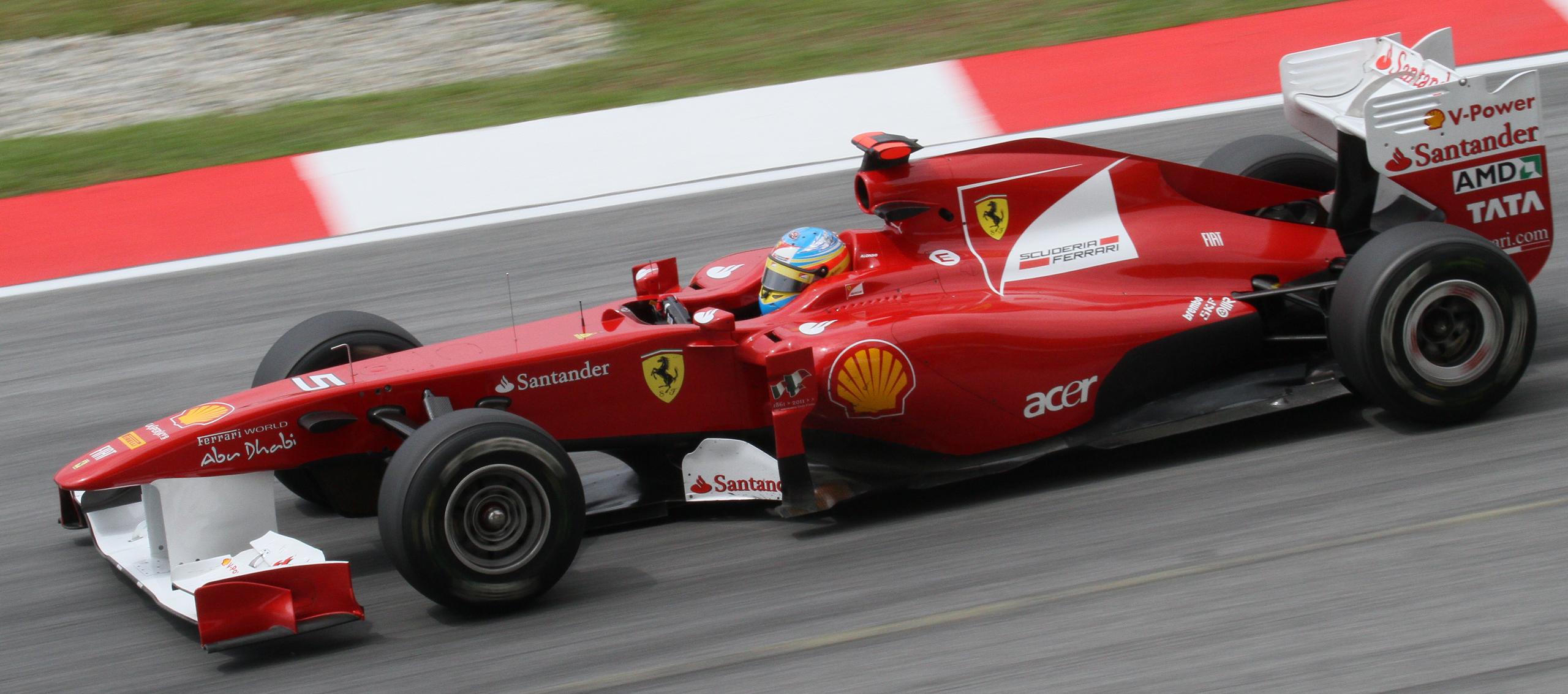 Ferrari f1 media