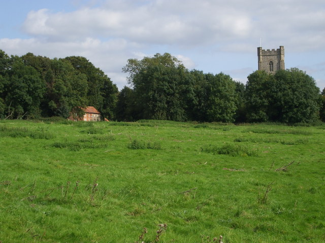 Field at Castle Acre, Norfolk - geograph.org.uk - 1358122