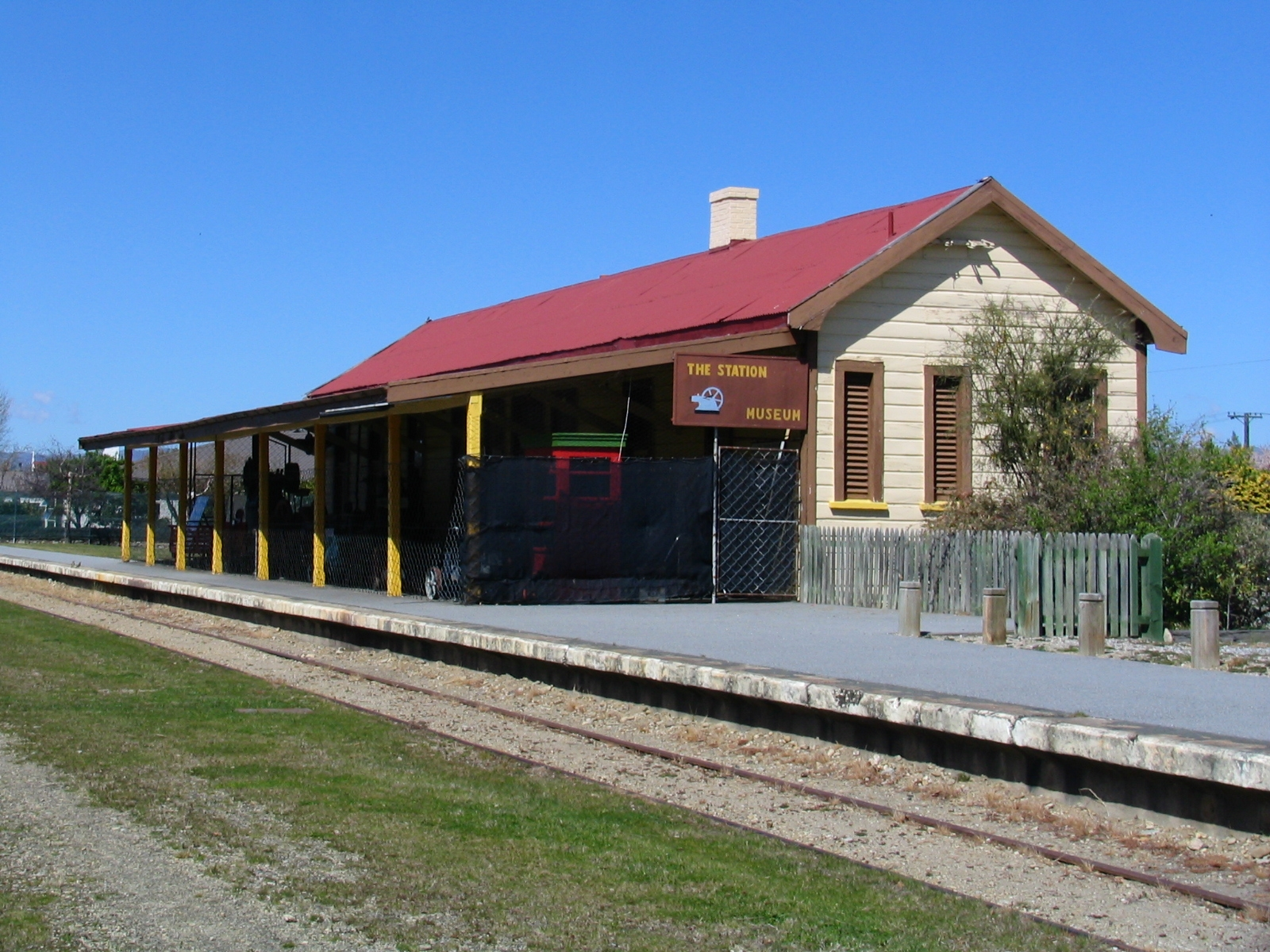 Clyde New Zealand  City new picture : Former Clyde Railway Station, Clyde, Otago, New Zealand 7391 ...