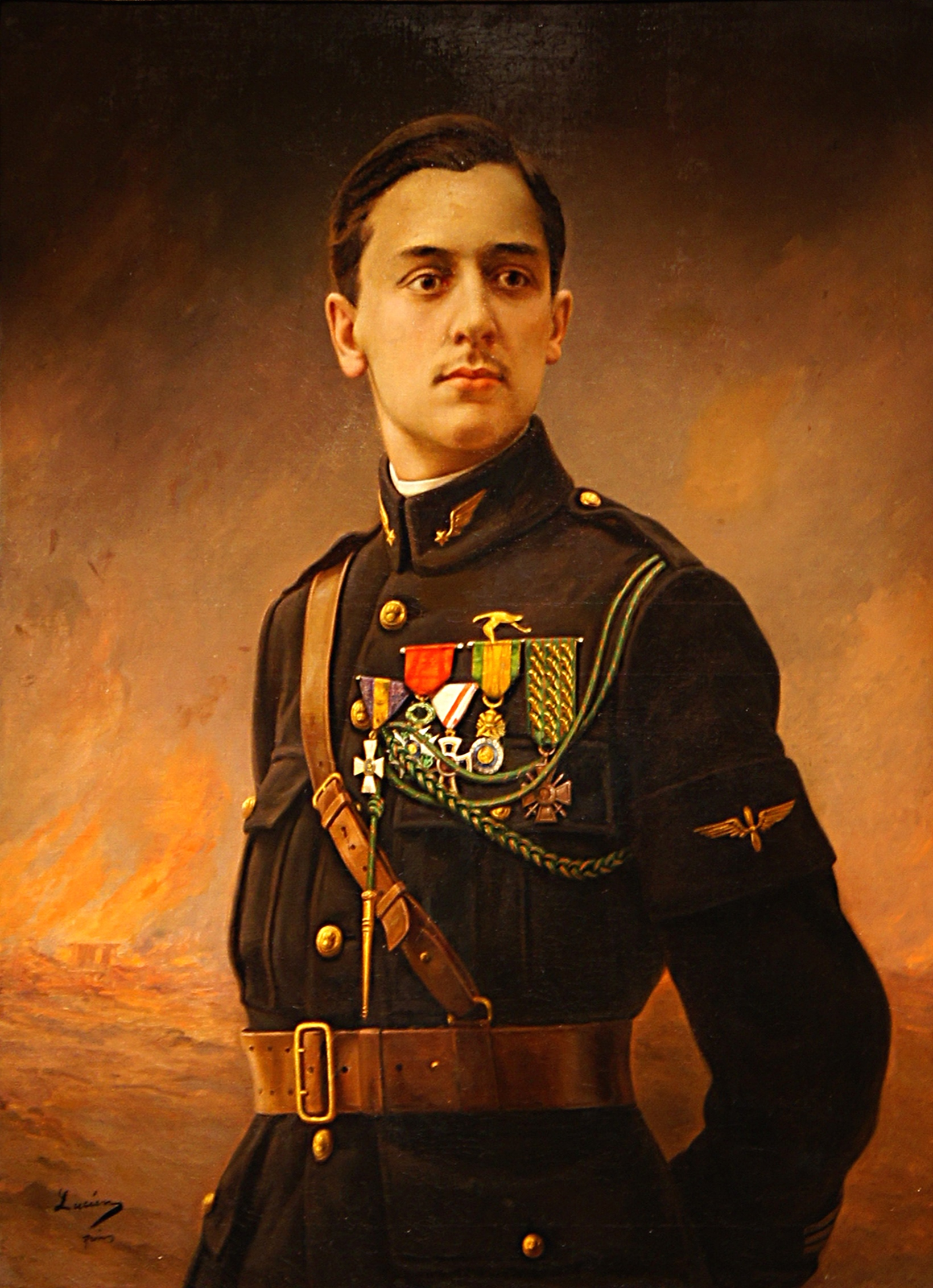 Georges Guynemer, French Air Force pilot and WWI ace