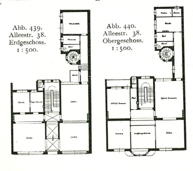 File gesch fts und wohnhaus alleestra e 38 heute for Wohnhaus grundriss