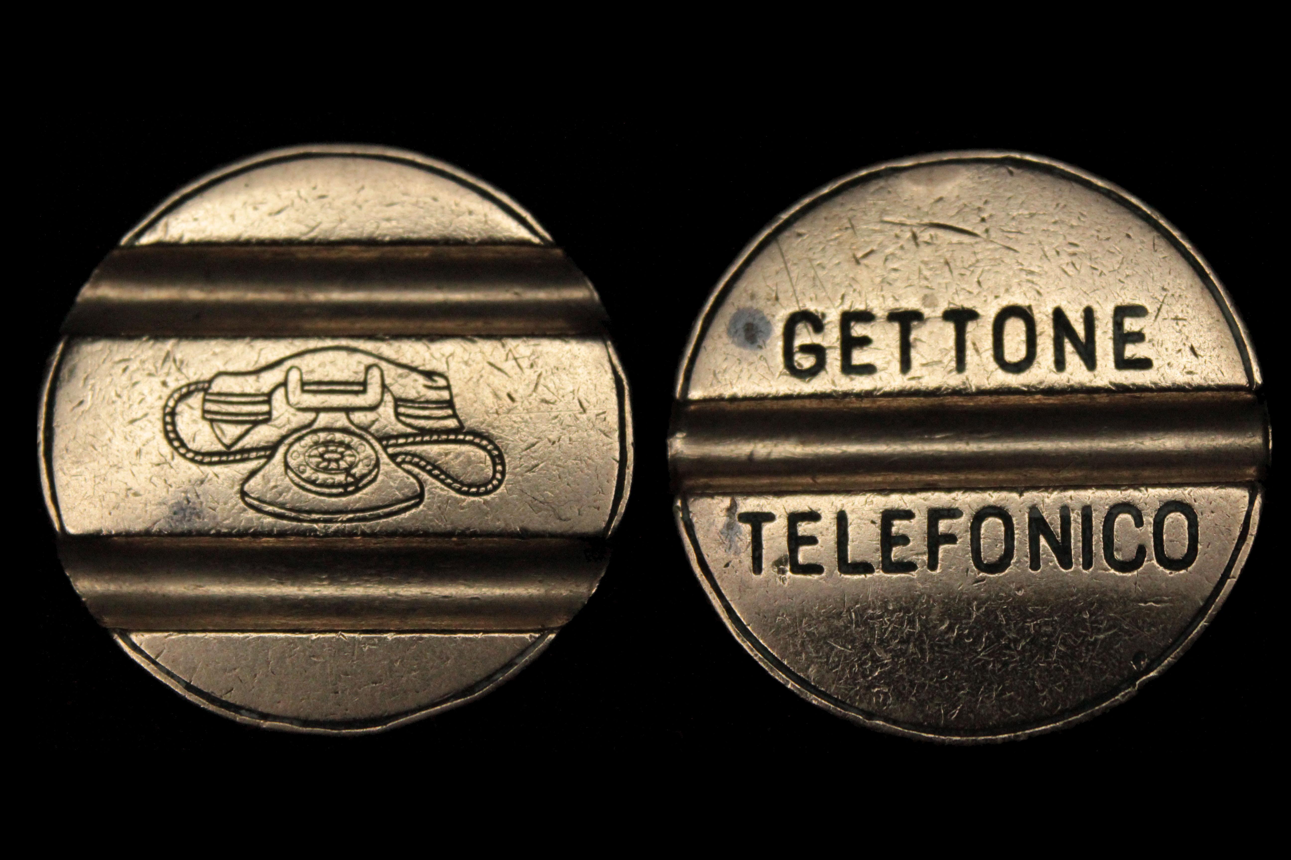 Cabina Telefonica : File:gettone per cabina telefonica italiana.jpg wikimedia commons