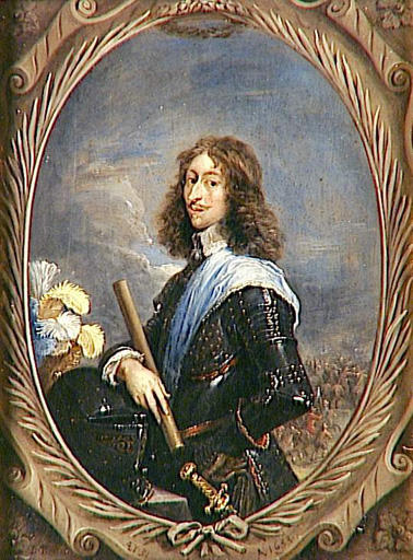 Portrait of Louis II de Bourbon-Condé dit le Grand Condé