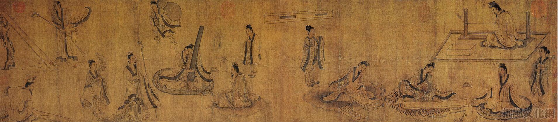 шпаргалка живопись древнего китая