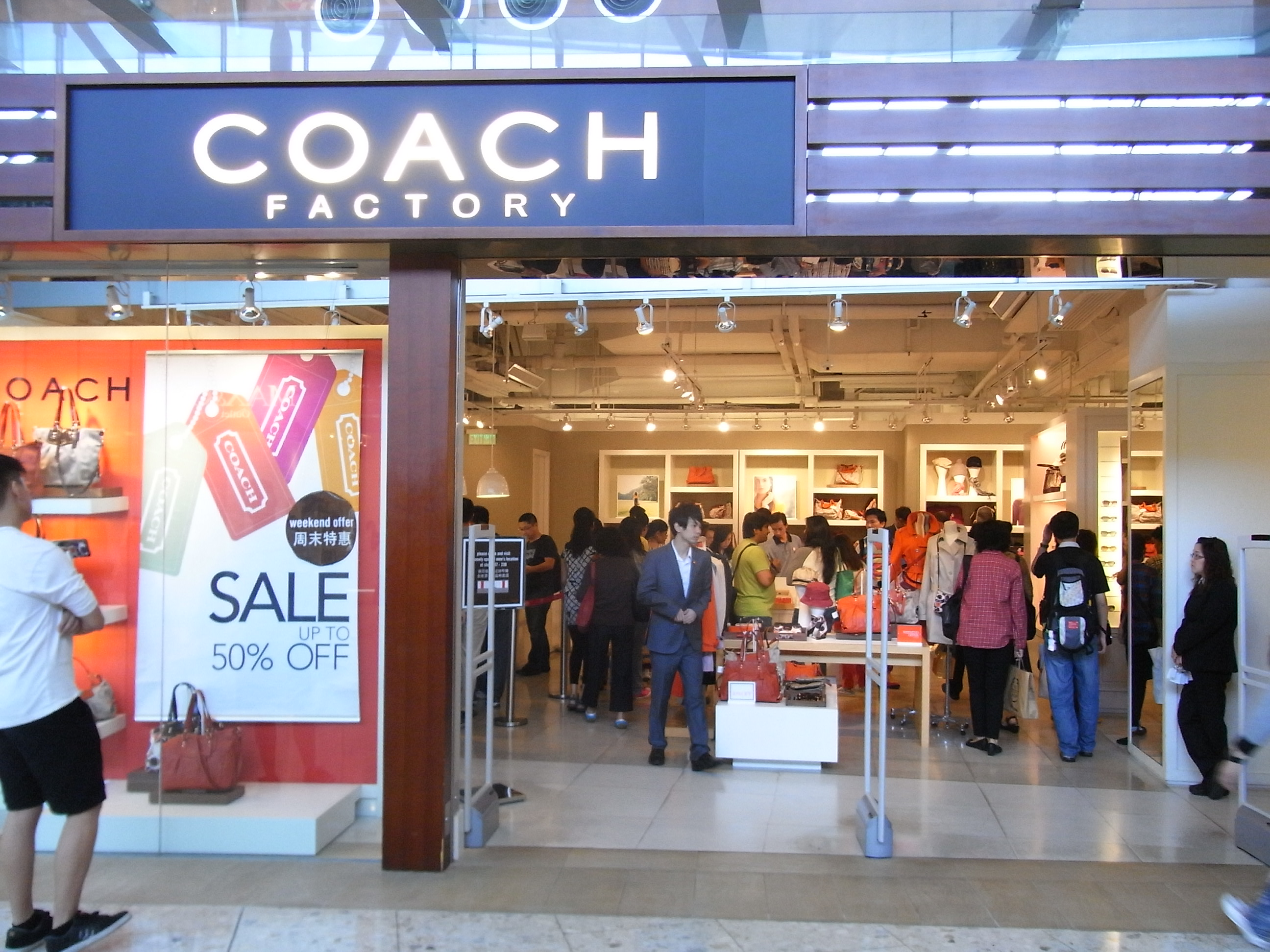 coachfactory outlet 8e40  File:HK Tung Chung CityGate Outlets shop COACH Factory Oct-2012JPG