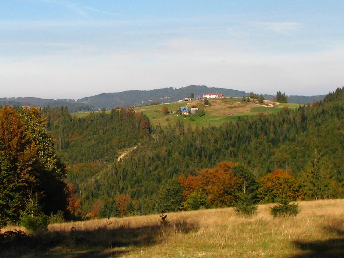 Szlak turystyczny - Żabnica - Hala Boracza