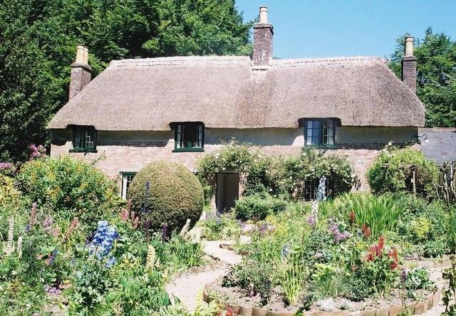 Hardy's cottage, Higher Bockhampton - geograph.org.uk - 480484
