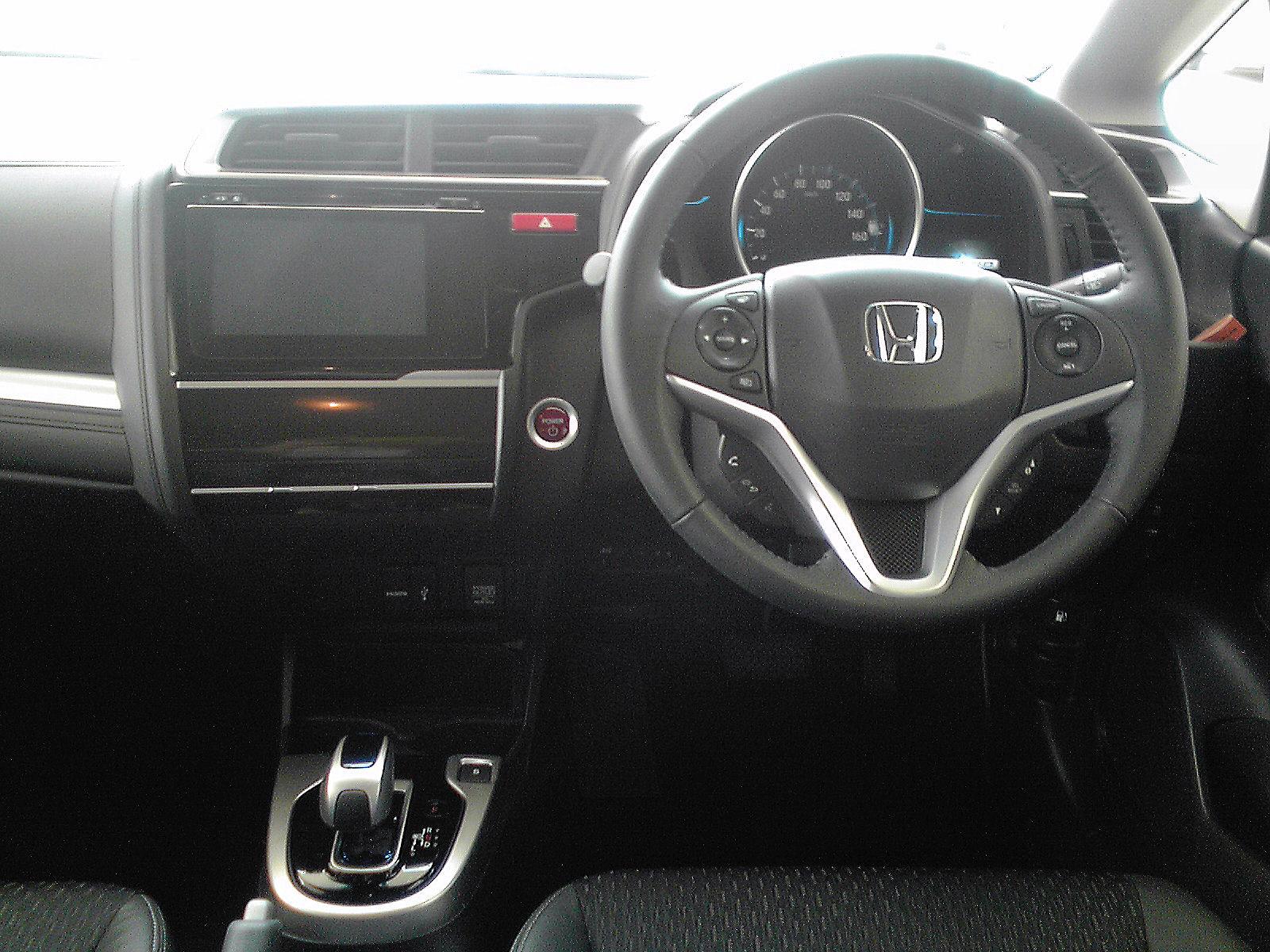 Interior Of Honda Fit >> File:Honda Fit Hybrid HYBRID・L-Package (GP5) Interior1.jpg - Wikimedia Commons