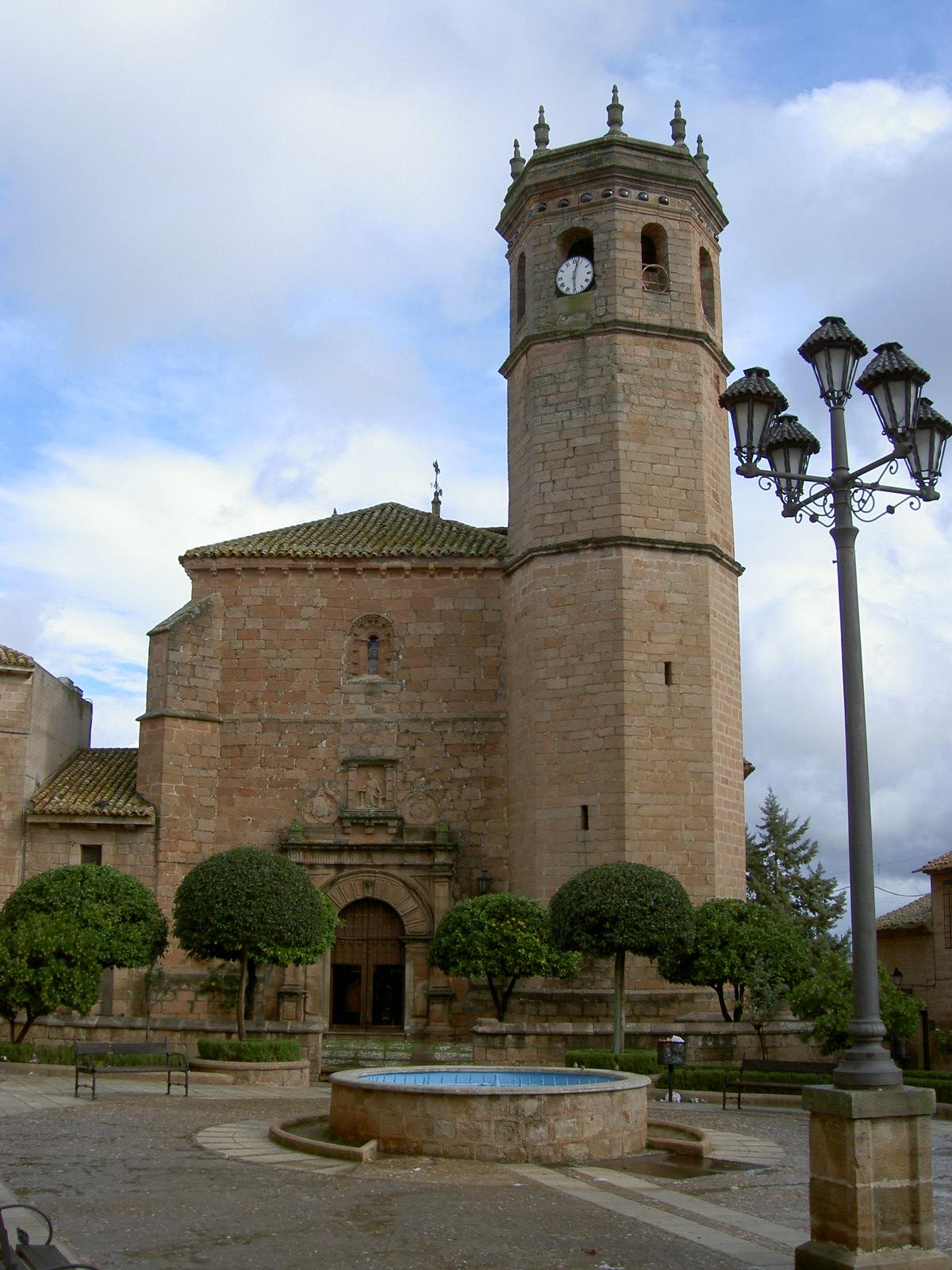 Archivo Iglesia San Mateo Banos De La Encina Jpg Wikipedia La