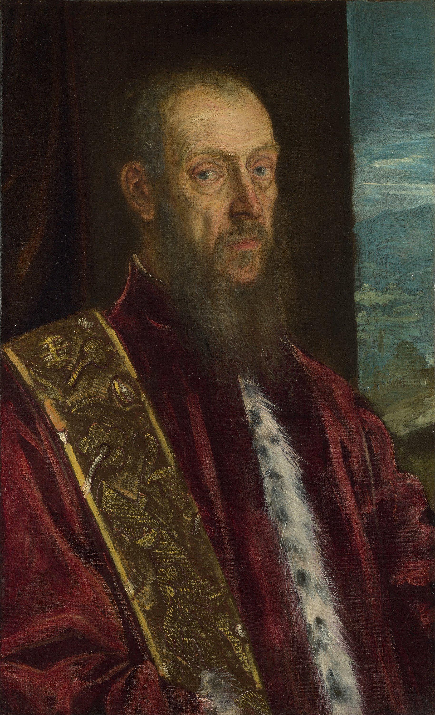 Resultado de imagen de retrato de Vincenzo Morosini, de Tintoretto (National Gallery, Londres)
