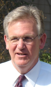 Jay Nixon doing door-to-door campaigning in St...