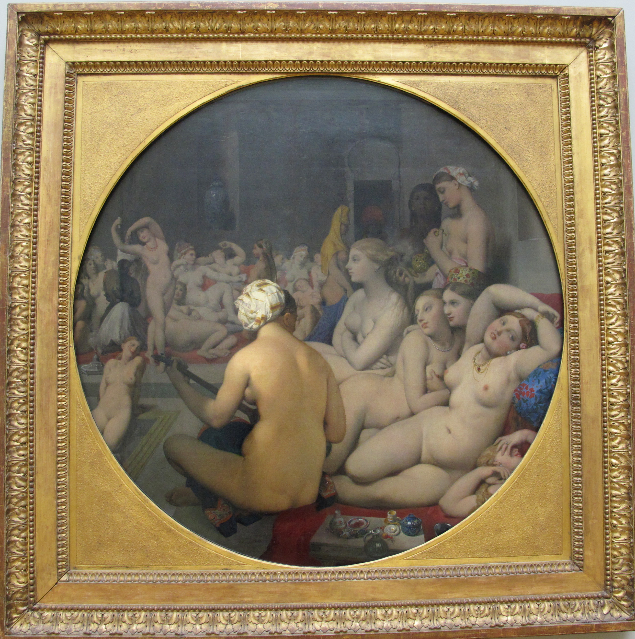 File:Jean-auguste-dominique ingres, il bagno turco, 1862, 01.JPG ...