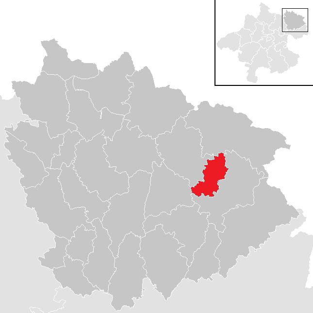Kaltenberg locator map